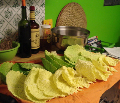 cabbage-drying