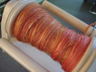 orange tussah