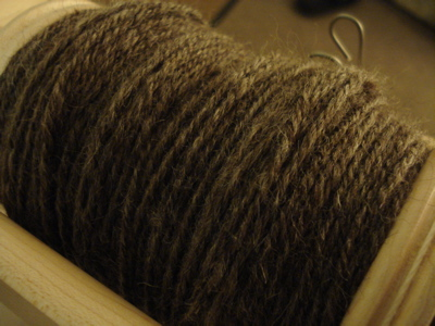 first skein cmf bfl 3ply