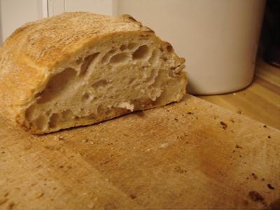 bread inside