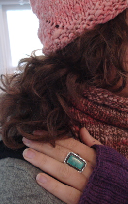 snail, cowl mitts